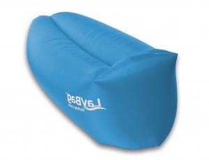 Der LayBag in blau