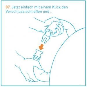 Luftliegen Anleitung Schritt 7